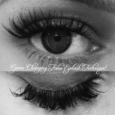Game Changing False Eyelash Technique!